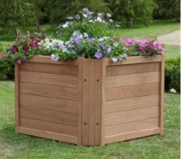 Picture for category More Wooden Planters