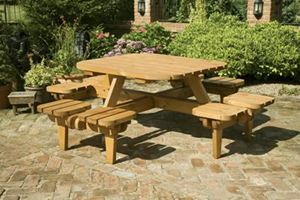 Picnic Tables to Suit Every Situation